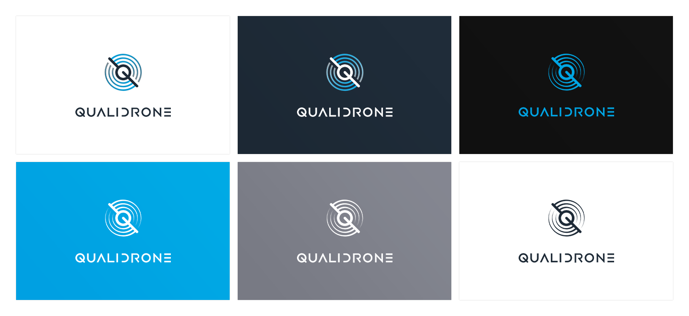 Qualidrone - Branding + Design web + Dev.